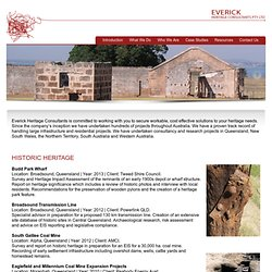 Everick Heritage Consultants