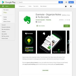 Evernote - Apps on Android Market