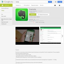Evernote – Aplikacje Android w Google Play