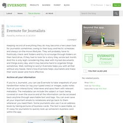 Just another Evernote Blog site