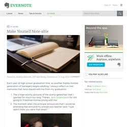 Evernote Blog (SEA)