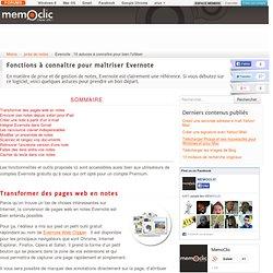 Evernote : 10 astuces à connaître pour bien l'utiliser