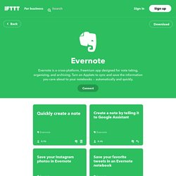 Evernote Channel