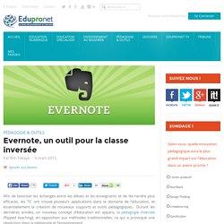 Evernote, un outil pour la classe inversée