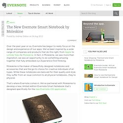 The New Evernote Smart Notebook by Moleskine