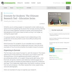 for Students: The Ultimate Research Tool – Education Series