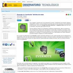 """Evernote, la """"revolución"""" del bloc de notas"""