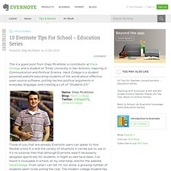 10 Evernote Tips For School – Education Series « Evernote Blogcast