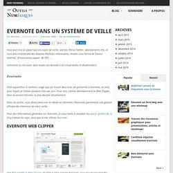 Evernote dans un système de veille - Les Outils Numériques