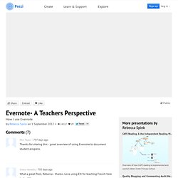 Evernote- A Teachers Perspective by Rebecca Spink on Prezi