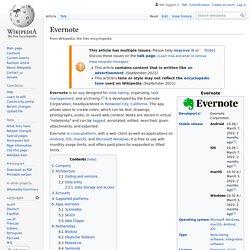 Evernote - Wikipedia