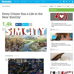 Every Citizen Has a Life in the New 'SimCity'
