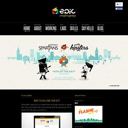 Every Pixel Counts | EPIC - Creative agency