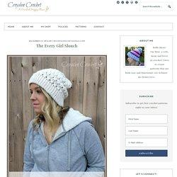 The Every Girl Slouch - croyden crochet