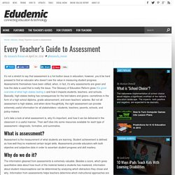 Every Teacher's Guide to Assessment