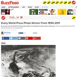Every World Press Photo Winner From 1955-2011