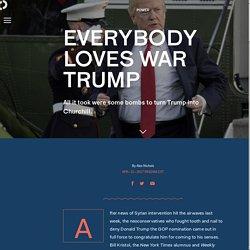 Everybody loves War Trump
