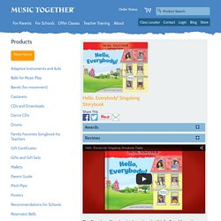 Hello, Everybody! Singalong Storybook - Music Together