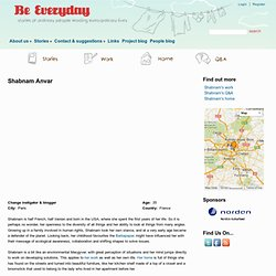 everyday stories - urban european sustainable living