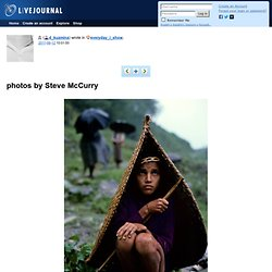photos by Steve McCurry