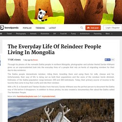 Dukha Reindeer people of Mongolia