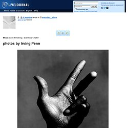 photos by Irving Penn
