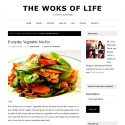 (to keep - the sauce. to b used with any veg) Everyday Vegetable Stir-Fry