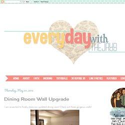 Dining Room Wall Upgrade