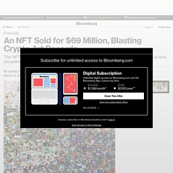 Beeple Everydays NFT Sells at Christie's Auction for $69 Million in Ether