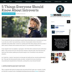 5 Things Everyone Should Know About Introverts