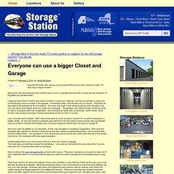 Everyone can use a bigger Closet and Garage