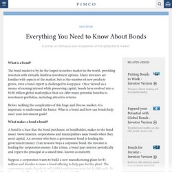 Everything You Need to Know About Bonds