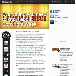 Everything you need to know about Copyright Week