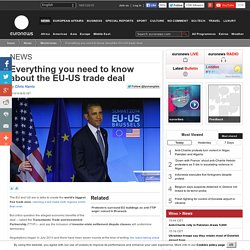 Everything you need to know about the EU-US trade deal