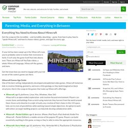 Everything You Need to Know About Minecraft