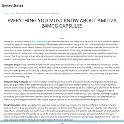 Everything You Must Know About Amitiza 24mcg Capsules - United States