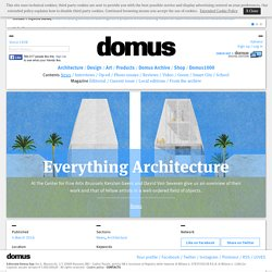 Everything Architecture