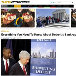 Everything You Need To Know About Detroit's Bankruptcy Settlement