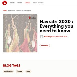 Navratri 2020 : Everything you need to know