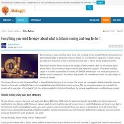 Bitcoin mining with OkEx platform