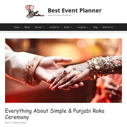 Know Everything About Punjabi Roka ceremony & its all procedure