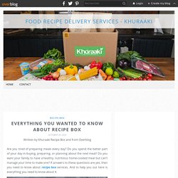 Everything You Wanted To Know About Recipe Box