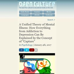"A Unified Theory of Mental Illness: How Everything from Addiction to Depression Can Be Explained by the Concept of ""Capture"""