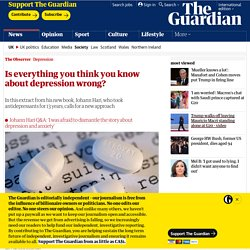 Is everything you think you know about depression wrong?
