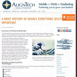 A Brief History of Nearly Everything (Digitally) Important