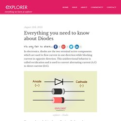 Everything you need to know about diodes
