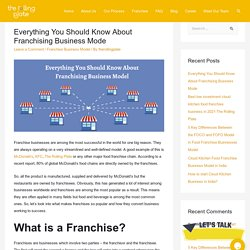 Everything You Should Know About Franchising Business Mode
