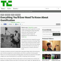 Everything You'll Ever Need To Know About Gamification