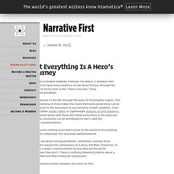 Not Everything Is A Hero's Journey - Narrative First