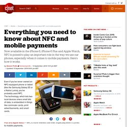 Everything you need to know about NFC and mobile payments